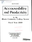 Accountability and Productivity in Illinois Community Colleges