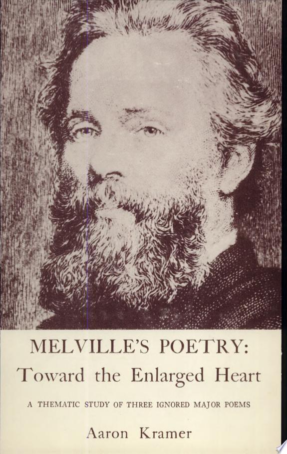 Melville's Poetry: Toward the Enlar