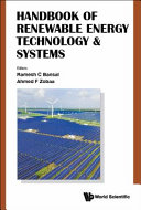 Handbook of Renewable Energy Technology and Systems Book