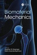 Biomaterials Mechanics