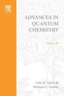 Advances In Quantum Chemistry Book PDF