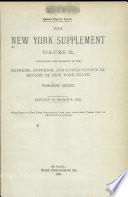 New York Supplement Book