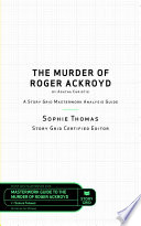 The Murder of Roger Ackroyd by Agatha Christie Book