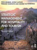 Cover of Strategic Management for Hospitality and Tourism