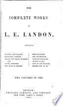 The Complete Works Of L E Landon