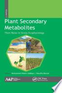 Plant Secondary Metabolites  Volume Three Book