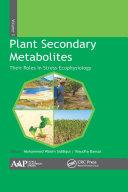 Plant Secondary Metabolites  Volume Three