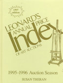 Leonard's Annual Price Index of Art Auctions