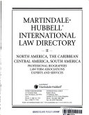 Martindale-Hubbell International Law Directory