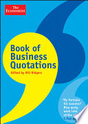 Book of Business Quotations