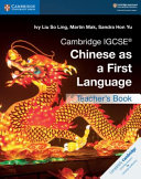 Books - New Cambridge Igcse� Chinese As A First Language Teachers Book | ISBN 9781108434966