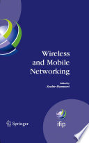 Wireless and Mobile Networking Book