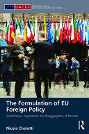 The Formulation of EU Foreign Policy