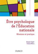 Pdf Etre psychologue de l'Education nationale - 2e éd Telecharger