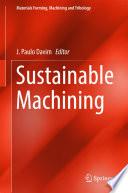 Sustainable Machining Book