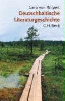 Deutschbaltische Literaturgeschichte
