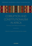 Pdf Corruption and Constitutionalism in Africa Telecharger