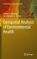 Geospatial Analysis of Environmental Health - Seite 65