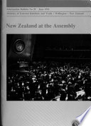 New Zealand at the Assembly