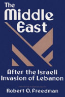 Pdf The Middle East After the Israeli Invasion of Lebanon