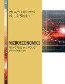 Microeconomics  Principles and Policy Book