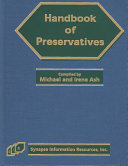 Handbook of Preservatives