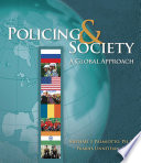 Policing and Society  A Global Approach Book