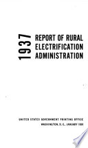 Report of Rural Electrification Administration