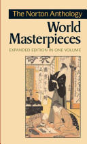 The Norton Anthology of World Masterpieces Book