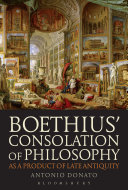 Boethius' Consolation of Philosophy as a Product of Late Antiquity Pdf/ePub eBook