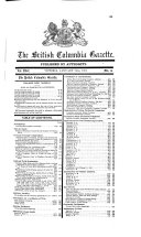 British Columbia Gazette