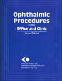 Ophthalmic Procedures in the Office and Clinic Book