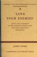 'Love Your Enemies'