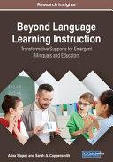 Beyond Language Learning Instruction