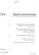 The Parliamentarian