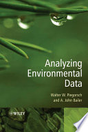 Analyzing Environmental Data Book PDF