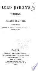 Lord Byron's Works