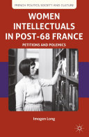 Pdf Women Intellectuals in Post-68 France Telecharger