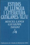 Miscel·lània Giuseppe Tavani, 3