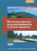 Pdf Politiques agricoles : économies émergentes et pays en transition 1999 Telecharger