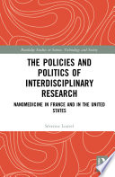 The Policies and Politics of Interdisciplinary Research