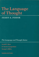 The Language of Thought ebook