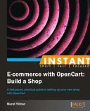 Instant E commerce with OpenCart  Build a Shop How to