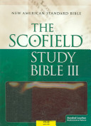 The Scofield   Study Bible III  NASB