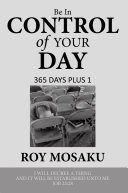 Be in Control of Your Day ebook