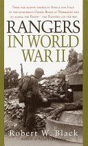 Rangers in World War II Book