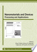 Nanomaterials and Devices: Processing and Applications