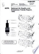 National Air Quality and Emissions Trends Report