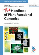 The Handbook of Plant Functional Genomics