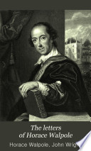 The Letters of Horace Walpole